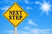 Постер, плакат: Next Step Concept