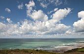 Seascape of the french Atlantic coast