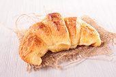 stock photo of croissant  - croissant - JPG