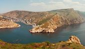 foto of sevastopol  - Balaklava city on the Crimean Peninsula - JPG