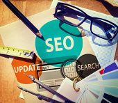 SEO Search Engine Optimisation Availability Concept poster
