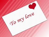 Love Stamp poster