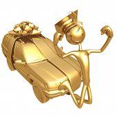 Golden Grad Suv Graduation Gift