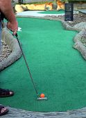 Working On My Putt