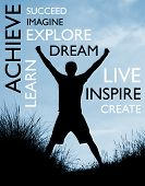Achieve success poster