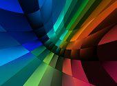 Постер, плакат: Абстрактные цвета текстуры