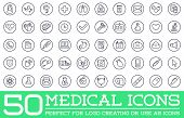 Medicine Health Vector Symbols Icons Can Be Used As Logotype Element Or Icon, Illustration Ready For poster