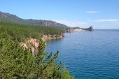 Landscape At The Baikal Lake In Siberia.