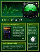 Science theme brochure / flyer