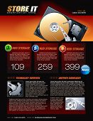 Hard Disk promotional brochure