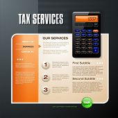 Tax Firm web template