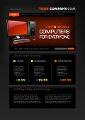 Computer Shop web page template