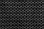 Black Nylon Fabric Texture Or Nylon Fabric Background. Clouse Up Nylon Fabric Detail. Fabric Textile poster