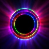 Shining Rings - Concentrical Bright Shine Glow poster