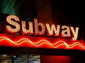 Subway Sign, New York City