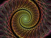 Spiral Burst poster