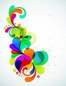 EPS10. Elemento colorido totalmente editável para seu projeto