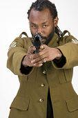 Rasta Army Black Man