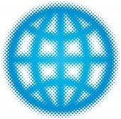globe (dots design series)