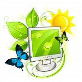 Ecological monitor