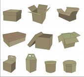 boxes - vector collection
