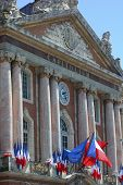 The Capitole, in Toulouse, France.