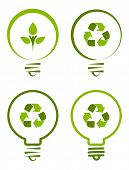Renewable green energy concept.