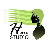 Hair studio design concept.