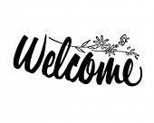 Welcome - Retro Clipart Banner