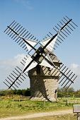Classic French Windmill