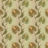 Spiny-flower-pattern