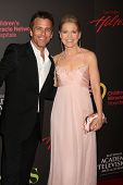 LAS VEGAS - JUN 19:  Scott Reeves, Melissa Reeves arriving at the  38th Daytime Emmy Awards at Hilto
