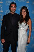 LOS ANGELES - JUN 17:  Jordi Vilasuso, Lindsay Hartley at the 38th Annual Daytime Creative Arts & Entertainment Emmy Awards at Westin Bonaventure Hotel on June 17, 2011 in Los Angeles, CA