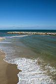 Thai Sea : White Sand Beach And Blue Sky