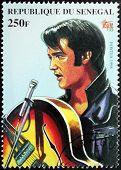 Presley - Senegal Stamp#1
