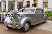 BADEN-BADEN, GERMANY- JULY 13: A ROLLS-ROYCE PHANTOM (1933)  at The International Exhibition of old