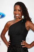 LOS ANGELES - JUN 9:  Shanola Hampton arriving at the Art of Elysium Return of Ford Mustang Boss Eve