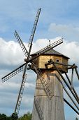 Wooden windmill from the New Jerusalem