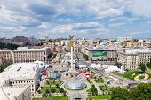 Independence Square - Central Square Of Kiev, Ukraine
