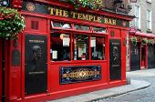 Beroemde Temple Bar In Dublin