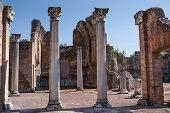 Ruins Of Villa Adriana Near Rome, Italy