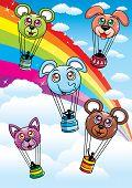 Animal Balloon Set