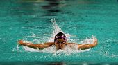 Swimmer Erika Kong