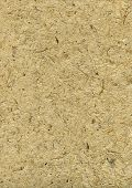 Handmade Rough Paper With Straws In Beige #1