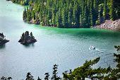 Diablo Washington Lake barco North Cascades National Park Pacific Northwest