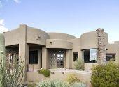 Casa de Adobe estilo Exterior