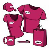 T-shirt men and women and promotional items