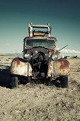Old Destroy Truck