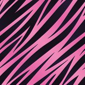 Pink Zebra Stripe Background