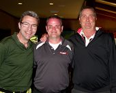 LOS ANGELES - APR 15:  John J. York, Tim Curren, Dennis Wagner at the Jack Wagner Celebrity Golf Tournament  at the Lakeside Golf Club on April 15, 2013 in Toluca Lake, CA